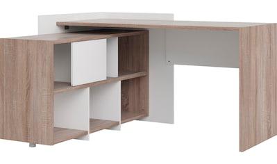 Home affaire Regal-Schreibtisch »Plus«, mit vielen Stauraummöglichkeiten, zeitloses... kaufen
