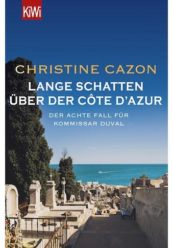 Buch »Lange Schatten über der Côte d'Azur / Christine Cazon« kaufen