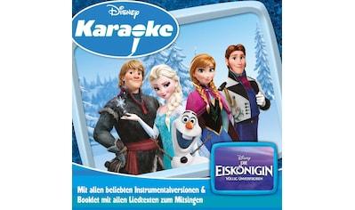 Musik-CD »Eiskönigin,Die-Karaoke / Diverse Kinder« kaufen