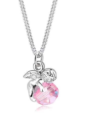 Elli Collierkettchen »Engel mit Kristall Kugel Silber« kaufen
