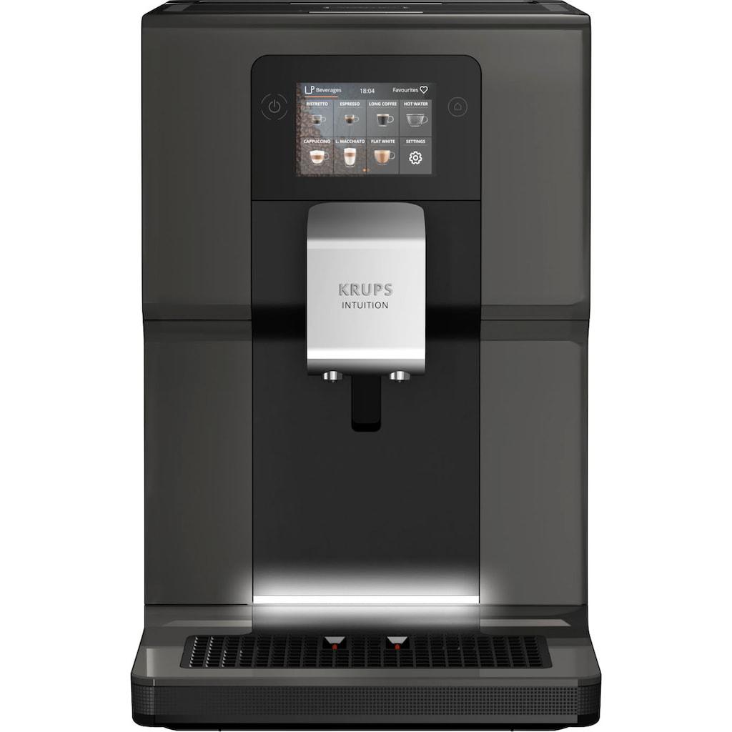 """Krups Kaffeevollautomat »EA872B Intuition Preference«, mit Smartphone-ähnlichem 3,5""""-Farb-Touchscreen; Intuitive farbige Lichtanzeigen; 11 personalisierbare Getränke"""