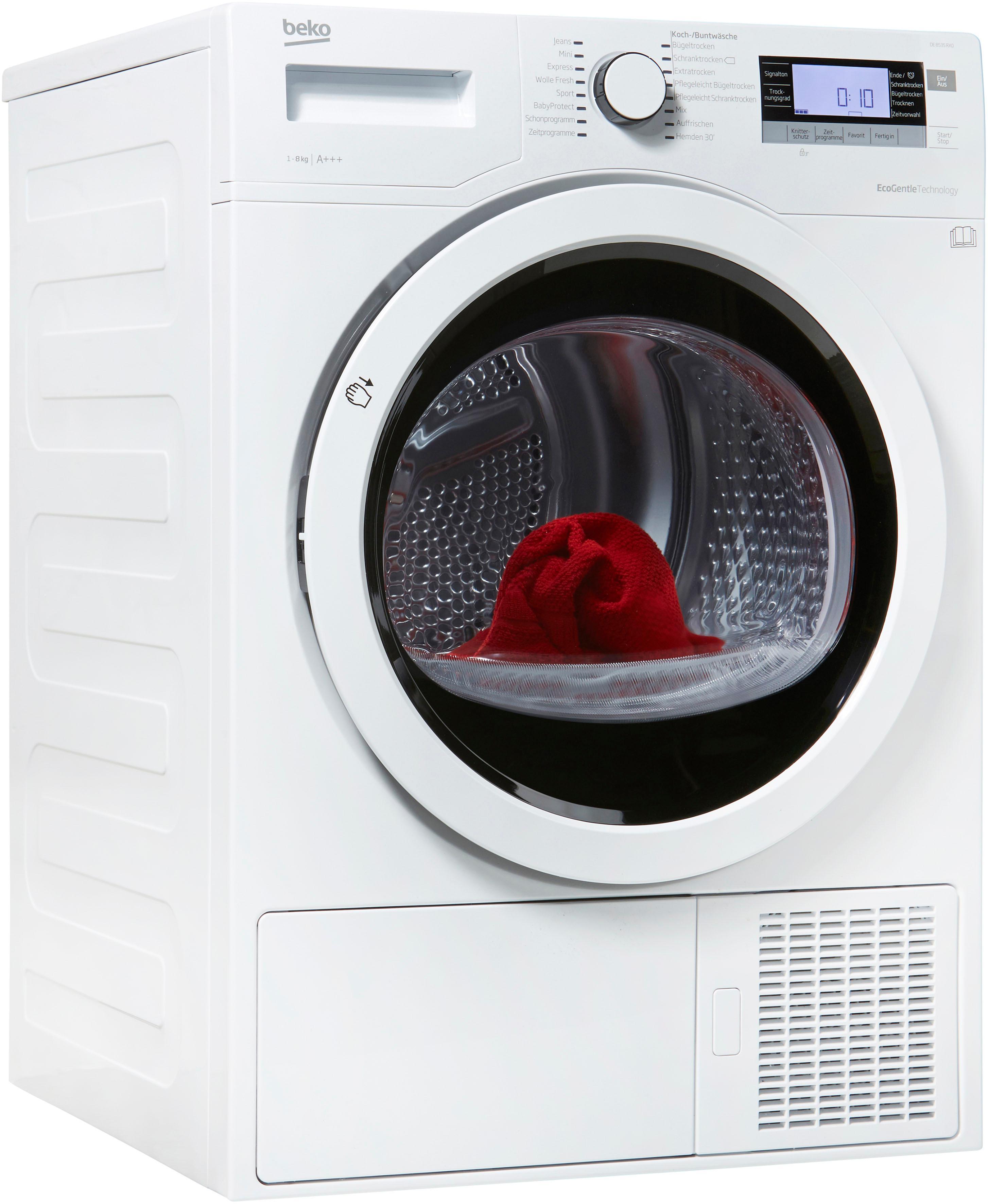 BEKO Wärmepumpentrockner DE8535RX0, 8 kg | Bad > Waschmaschinen und Trockner > Wärmepumpentrockner | Beko