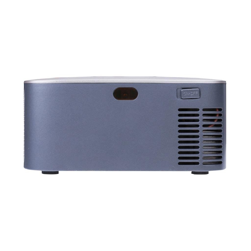 LA VAGUE Mini-Beamer »LV-HD120«, (1000:1), Projektor mit LCD- und LED-Technologie für Gaming & Heimkino