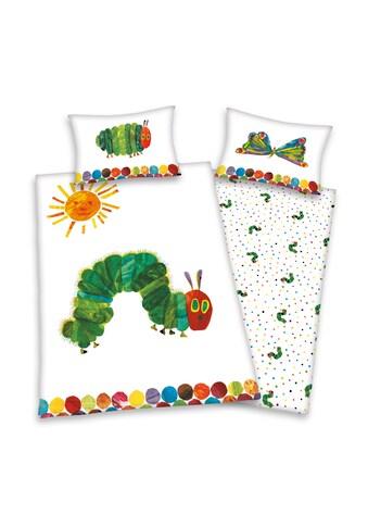 Die kleine Raupe Nimmersatt Kinderbettwäsche »Raupe Nimmersatt, Baumwoll-Renforcé« kaufen