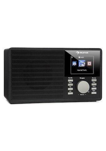 """Auna Internet Radio WLAN Streaming USB AUX UPnP 2.8"""" TFT Microanlage kaufen"""