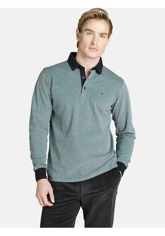 Charles Colby Langarm-Poloshirt »DUKE EDGAR«, aus dreifarbigem Pikee kaufen