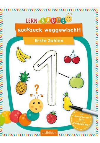 Buch »Lernraupe - Ruckzuck weggewischt! Erste Zahlen / Corina Beurenmeister« kaufen