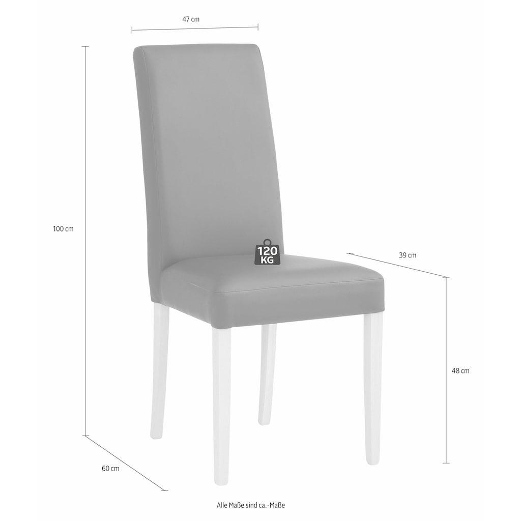 Home affaire Essgruppe »Spree«, (Set, 5 tlg.), bestehend aus Eckbank, Tisch und 2 Stühlen