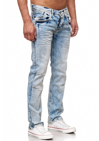 Rusty Neal Jeans in angesagter Optik und bequemer Passform kaufen