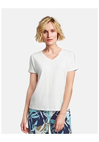 GERRY WEBER T - Shirt 1/2 Arm »Shirt mit V - Ausschnitt« kaufen