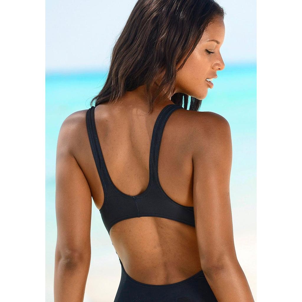 Venice Beach Badeanzug, mit sportlichem Logo-Druck