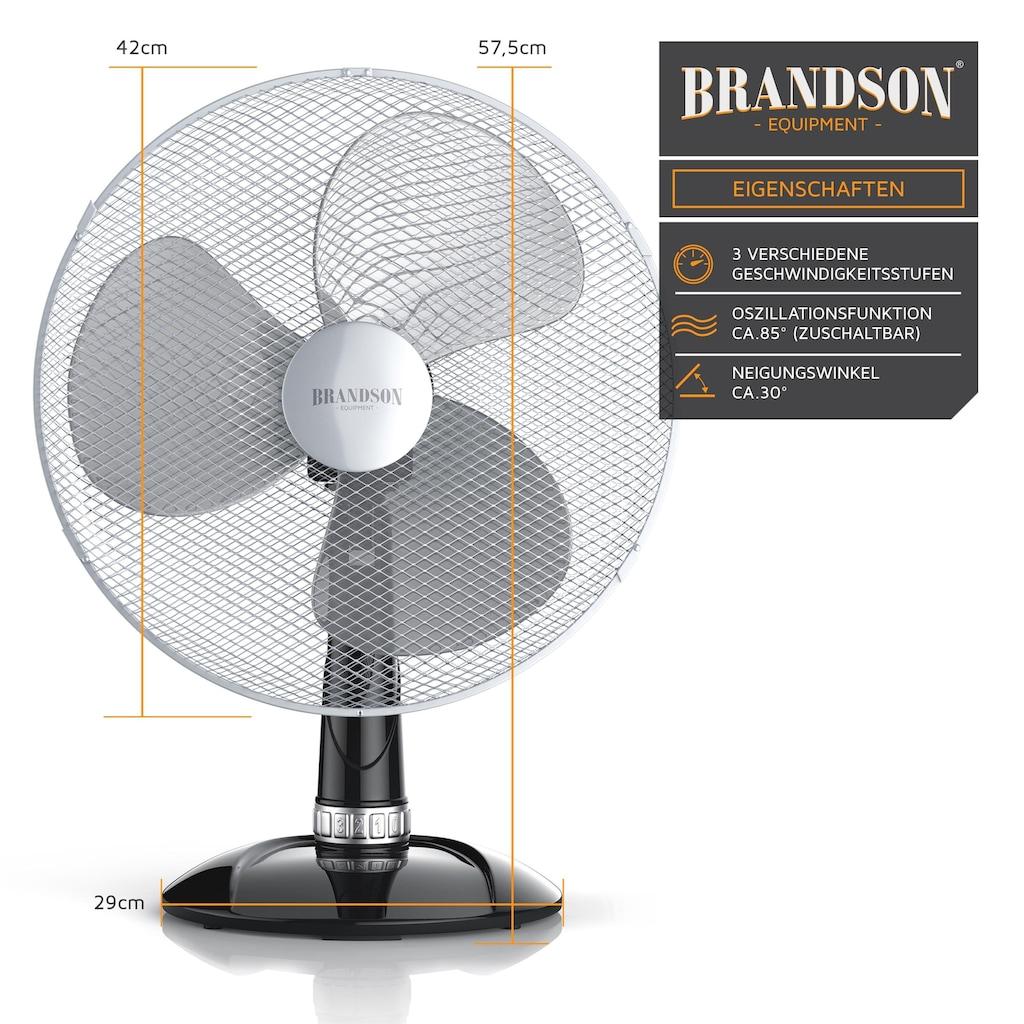 Brandson 50W Ventilator mit 3 Leistungsstufen