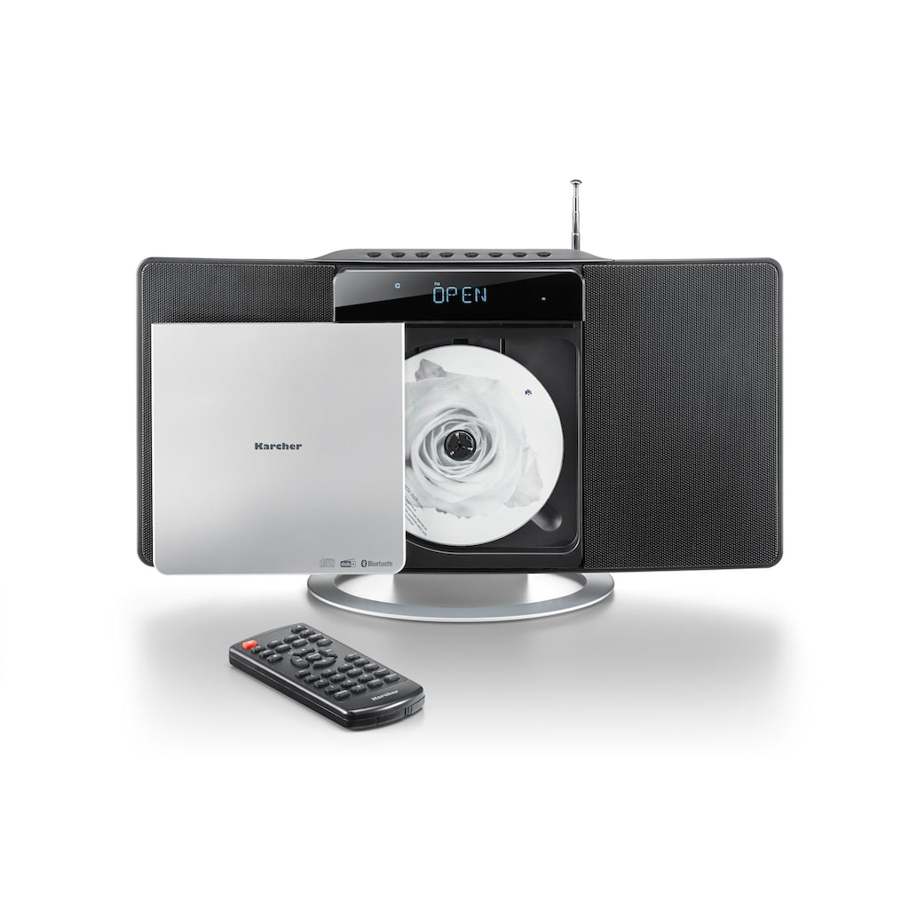 Karcher Kompaktanlage »MC 6580D«, Bluetooth, UKW-Radio