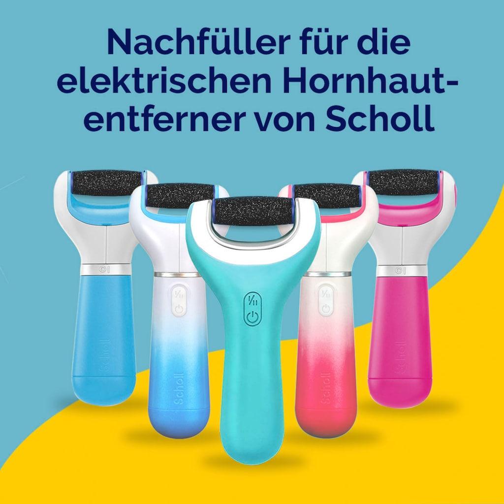 Scholl Hornhautentferner Ersatzrolle »Scholl Velvet Smooth Ersatzrollen Extra Stark mit Diamantpartikeln«