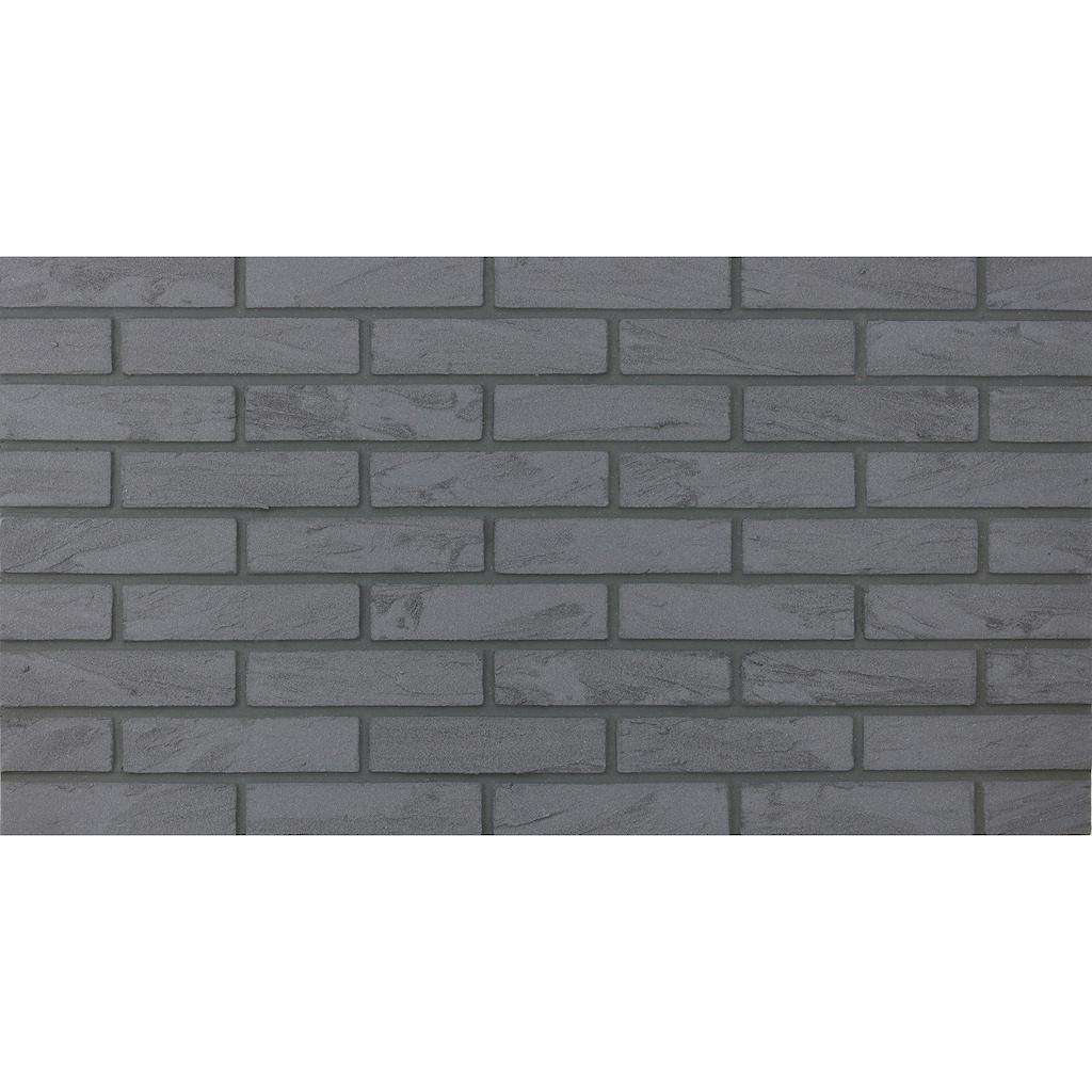 ELASTOLITH Verblender »Nero«, grau, für Innenbereich, 1 m²