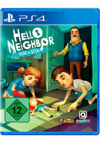 Hello Neighbor Hide & Seek PlayStation 4 kaufen