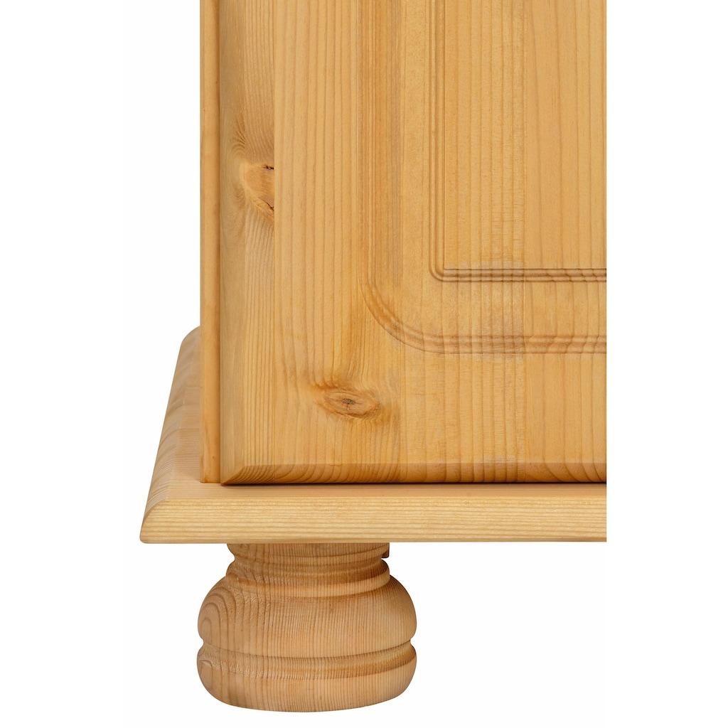 Home affaire Sideboard »Mette«, mit gefrästen, kugelförmigen Füßen, Breite 120 cm