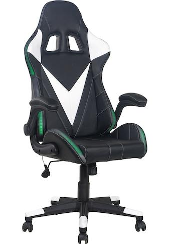 Homexperts Gaming Chair »Song«, Mit umlaufender LED RGB Beleuchtung kaufen
