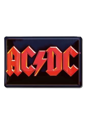 LOGOSHIRT Blechschild mit AC/DC - Motiv kaufen