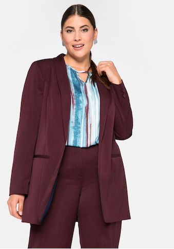 Sheego Longblazer, in legerer Form kaufen