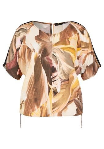 LeComte Blusenshirt mit Blütendruck und Ripsband kaufen