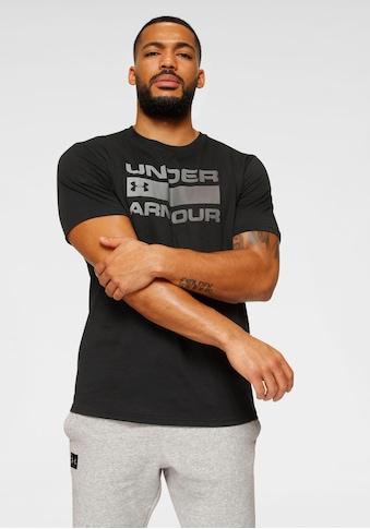 Under Armour® T-Shirt »TEAM ISSUE WORDMARK SHORT SLEEVE« kaufen
