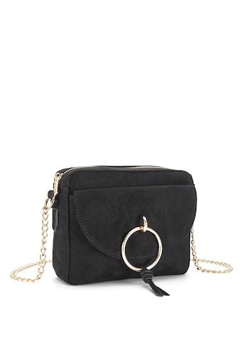LASCANA Umhängetasche, Minibag mit Kettenhenkel und Ring-Applikation kaufen