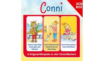 Musik - CD Conni Hörspielbox 4 / MEINE FREUNDIN CONNI, (3 CD) kaufen