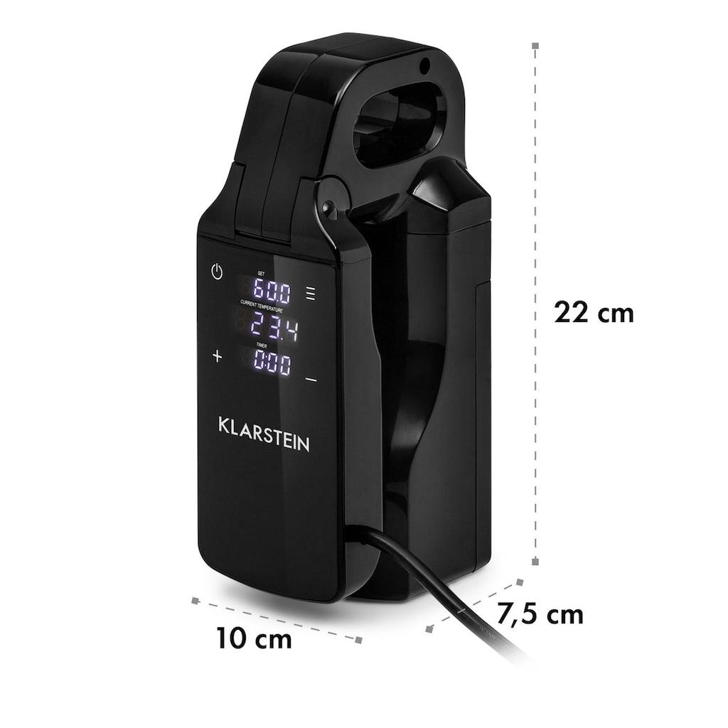 Klarstein Sous Vide Stick 0-95 °C LCD-Touch-Display schwarz »Quickstick Free«