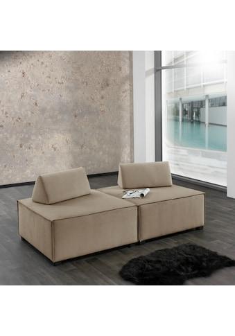 Max Winzer® Wohnlandschaft »MOVE«, Sofa-Set 10 aus 2 Hockern, inklusive 2... kaufen