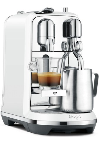 Nespresso Kapselmaschine SAGE Nespresso - Maschine »The Creatista Plus, perlweiß, SNE800SST2EGE1 « kaufen