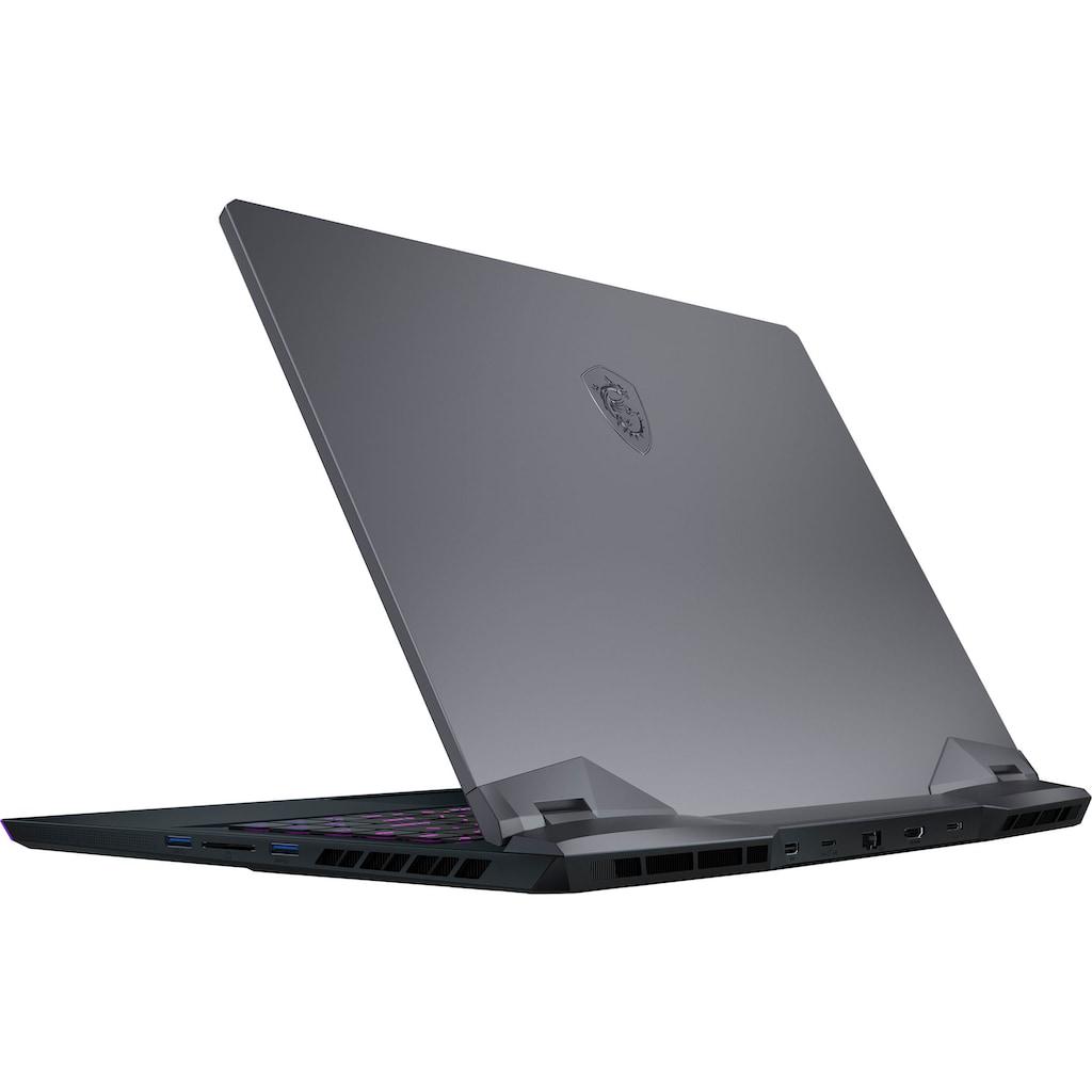 "MSI Gaming-Notebook »GE66 Raider 10UH-260«, (39,6 cm/15,6 "" Intel Core i9 GeForce RTX™ 3080\r\n 2000 GB SSD), Kostenloses Upgrade auf Windows 11, sobald verfügbar"
