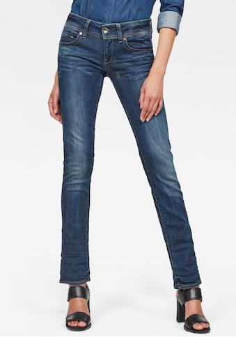 G - Star RAW Straight - Jeans »Midge Saddle Straight« kaufen