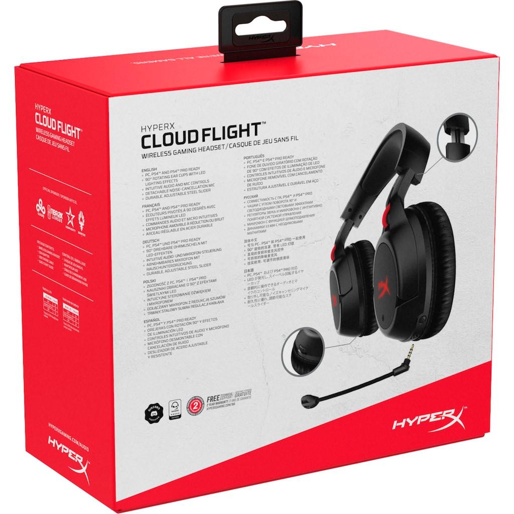 HyperX Gaming-Headset »Cloud Flight Wireless«, Rauschunterdrückung