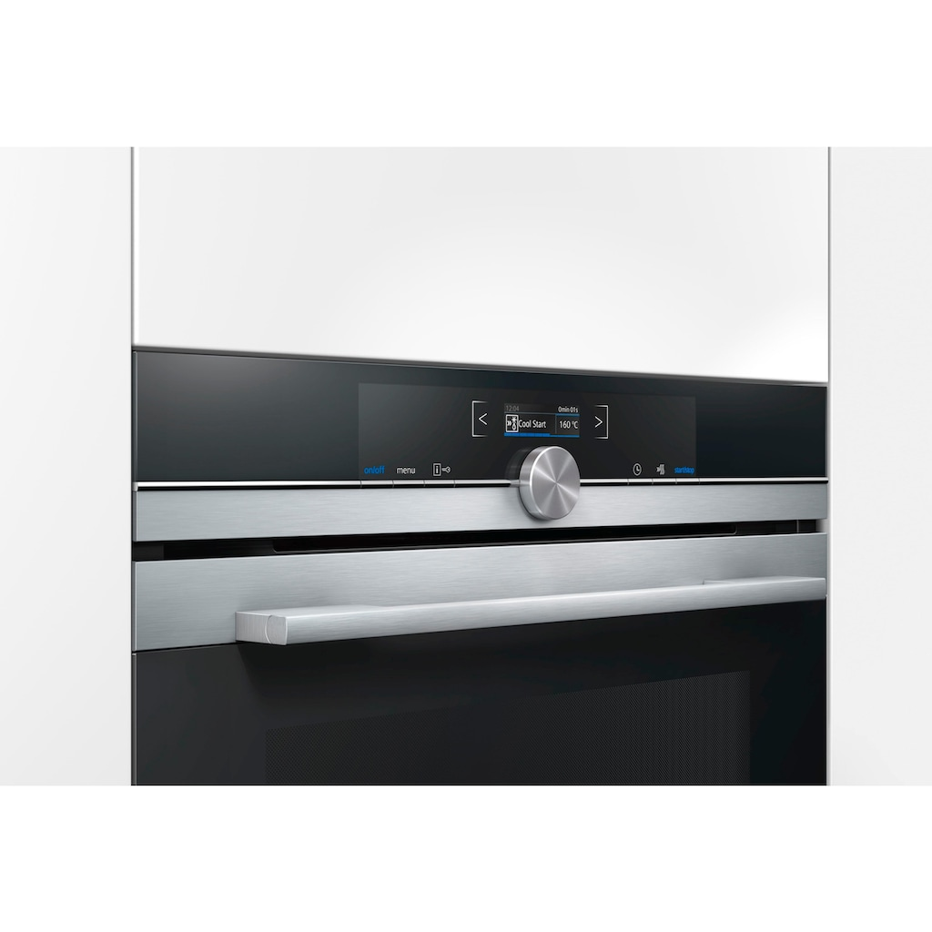 SIEMENS Backofen mit Mikrowelle »CM633GBS1«, CM633GBS1