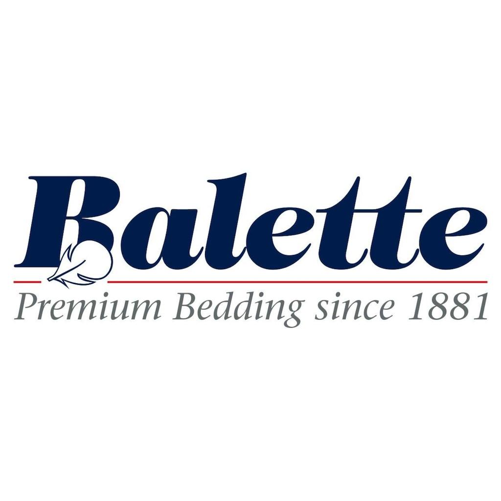 Balette Daunenbettdecke »Ballonbetten«, Füllung 85% Federn 15% Daunen, 70% Federn 30% Daunen oder 90% Daunen 10% Federn, Bezug Mako-Einschütte (100% Baumwolle), (1 St.)