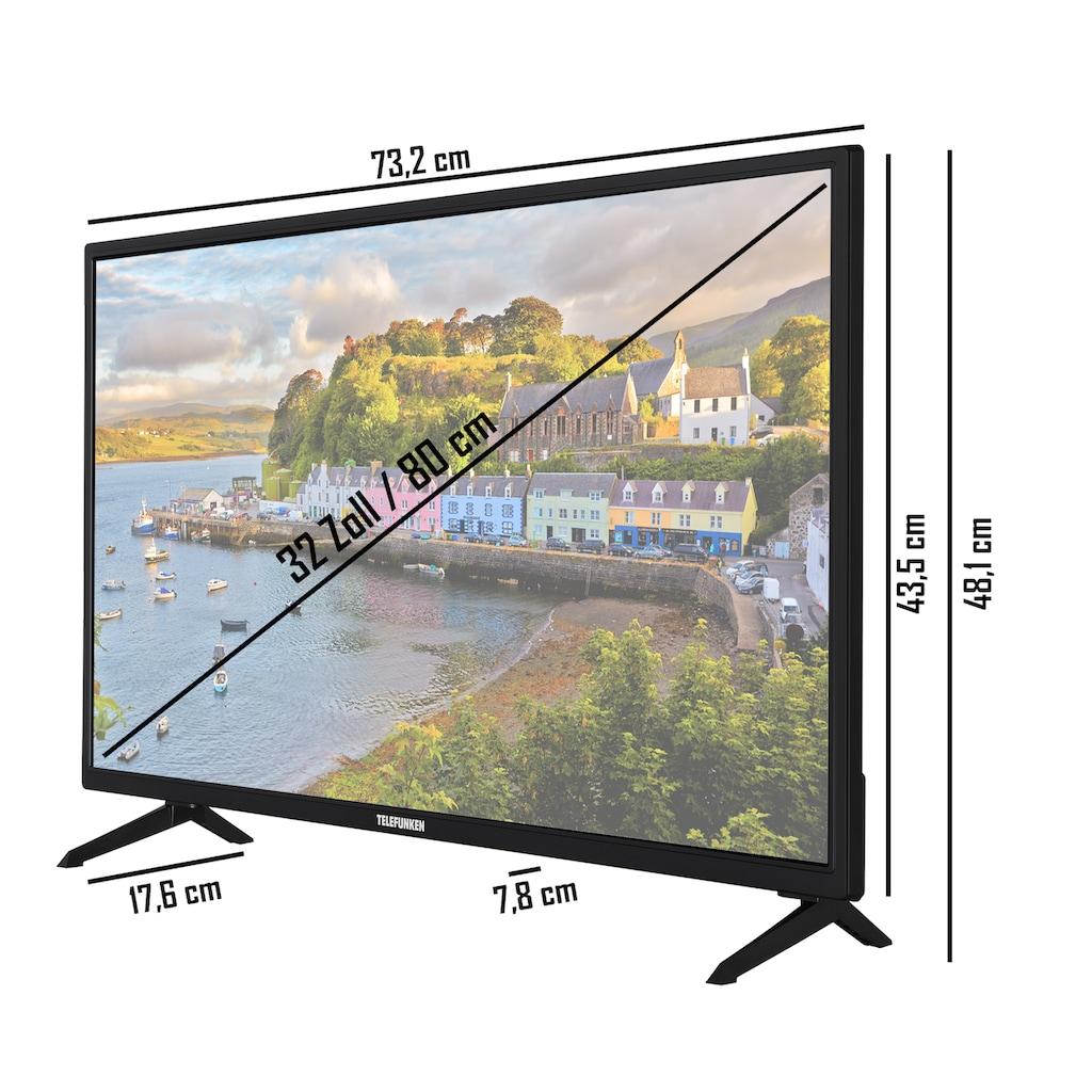 "Telefunken LED-Fernseher »XH32AJ600«, 80 cm/32 "", HD-ready, Android TV"
