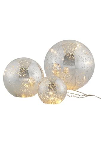 Home affaire LED Kugelleuchte »Balls«, Warmweiß, im 3-teiligen Set, bestehend aus Ø... kaufen