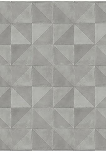 Andiamo Vinylboden »Kura grau«, Breite 200 cm, Meterware, Dekorfliesen-Optik kaufen