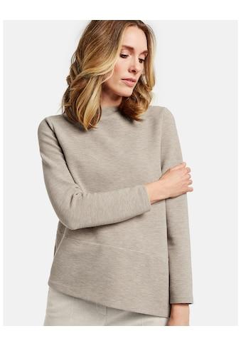 GERRY WEBER T - Shirt 1/1 Arm »Langarmshirt mit asymmetrischem Saum« kaufen