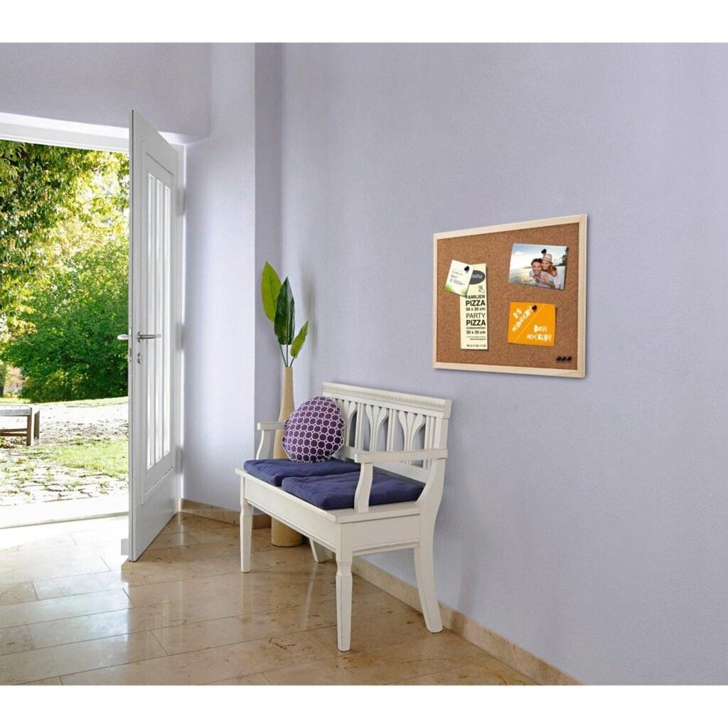 Hama Pinnwand, 59 x 79 cm, Holz, beidseitig Kork, Natur