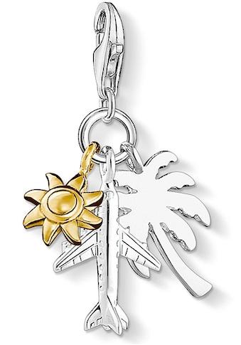 THOMAS SABO Charm-Einhänger »Palme, Sonne, Flugzeug, 1430-413-21« kaufen