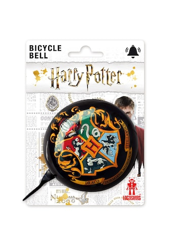 LOGOSHIRT Fahrradklingel mit Harry Potter Hogwarts - Hauswappen kaufen