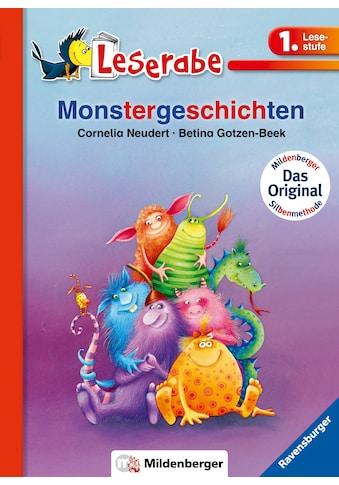 Buch »Monstergeschichten / Cornelia Neudert, Betina Gotzen-Beek« kaufen