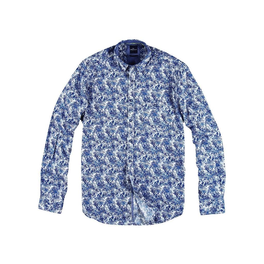 Engbers Hemd mit Palmenprint