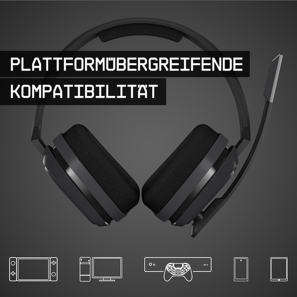 ASTRO Gaming-Headset »Gaming A10«, mit Kabel, Dolby ATMOS, PS5, PS4, XBOX, PC