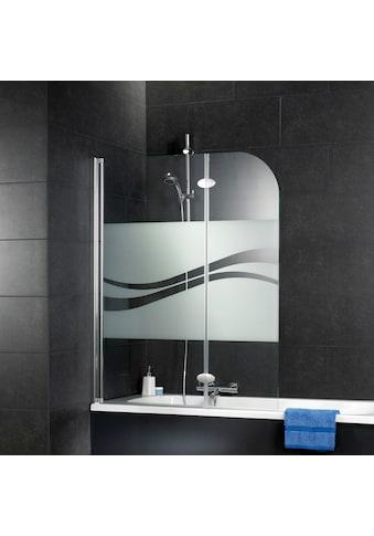 Schulte Badewannenfaltwand »Komfort«, milchglas kaufen