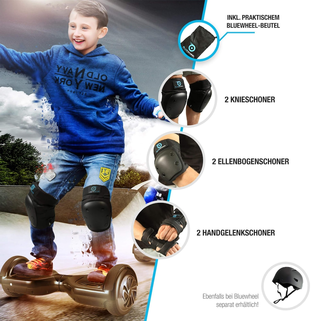 Bluewheel Electromobility Protektoren-Set »PS200«, (7 tlg.)