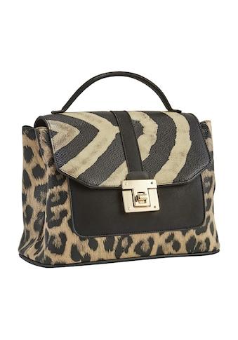 Tasche Tasche mit Animalprint kaufen