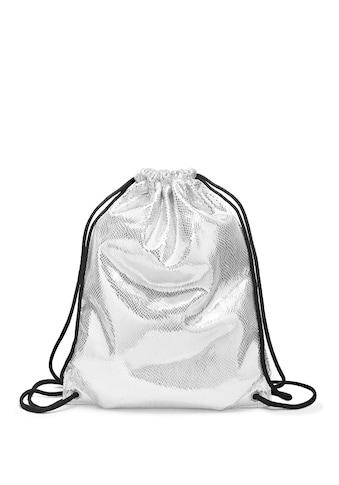 LASCANA Gymbag, Gym Bag aus glänzendem Material kaufen